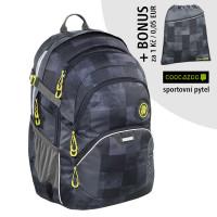 Školní batoh Coocazoo JobJobber2, Mamor Check  + sportovní pytel za 1 Kč