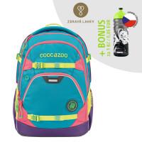 Školní batoh Coocazoo ScaleRale, Holiman + lahev za 1 Kč