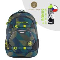 Školní batoh Coocazoo ScaleRale, Polygon Bricks + lahev za 1 Kč