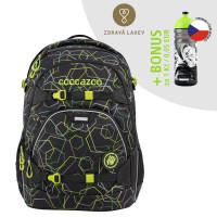 Školní batoh coocazoo ScaleRale, Laserbeam Black + lahev za 1 Kč