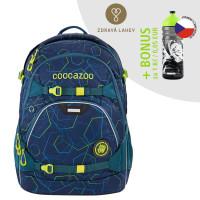 Školní batoh coocazoo ScaleRale, Laserbeam Blue + lahev za 1 Kč