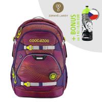 Školní batoh coocazoo ScaleRale, Soniclights Purple + lahev za 1 Kč