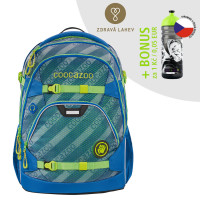 Školní batoh coocazoo ScaleRale, MeshFlash Neonyellow + lahev za 1 Kč