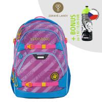Školní batoh coocazoo ScaleRale, MeshFlash Neonpink + lahev za 1 Kč
