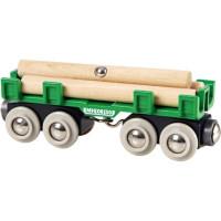 Brio - Nákladní vagon s kládami dřeva