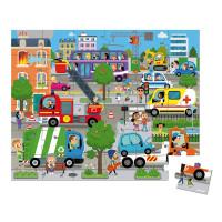 Puzzle - Město - 36 ks