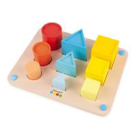 Učíme se tvary a barvy metodou Montessori