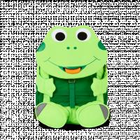 Affenzahn batoh do školky - Žabička Finn - neon