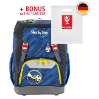 Školní batoh GRADE Step by Step - Fotball + desky na sešity za 1 Kč