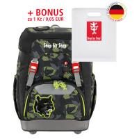 Školní batoh GRADE Step by Step - Černý panter + desky na sešity za 1 Kč