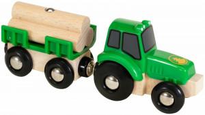 Brio - Traktor s přívěsem a nákladem