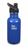 Nerezová lahev Klean Kanteen Classic w/Sport Cap 3.0 - coastal waters 532 ml