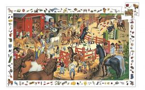 Puzzle - koňská jízdárna - 200 ks