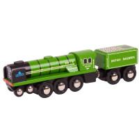 Bigjigs - dřevěná lokomotiva - Tornado