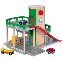 Brio - Patrové parkovací garáže s výtahem