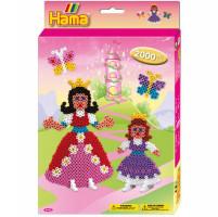Hama Midi Princezny - dárková sada - 2000 Ks