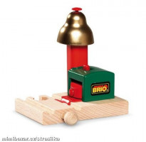 Brio - Magnetická zvuková signalizace