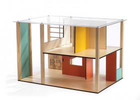 Domeček pro panenky - moderní domek
