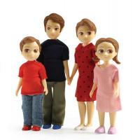 Domeček pro panenky - rodina Toma a Marion