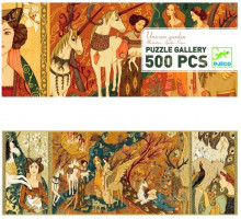 Puzzle - Zahrada jednorožců - 500 dílků