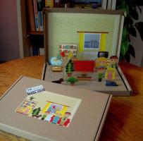 Pokojíček - papírové vystřihovánky