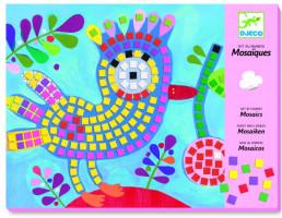 Mozaika - pták a beruška