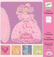 Kreslící šablony - Princezny