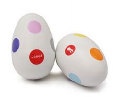 Chrastící vajíčko - confetti