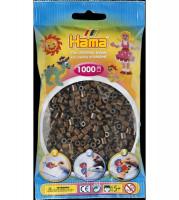 Hama Midi - korálky hnědé 1000 ks