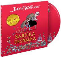 Babička drsňačka - audiokniha na CD