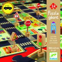 Puzzle - silniční doprava - 24 dílků