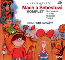 Mach a Šebestová - audiokniha na 5 CD