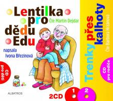 Lentilka pro dědu Edu a Trenky přes kalhoty - audio na CD