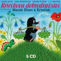 Krtečkova dobrodružství - Box 5 CD
