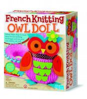 Francouzské pletení - Sovička