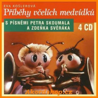 Příběhy včelích medvídků - audio na 4 CD