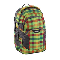Školní batoh Coocazoo JobJobber2, Hip To Be Square Green