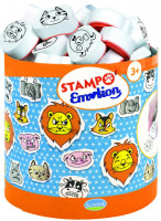 Dětská razítka StampoMinos - Zvířecí smajlíci