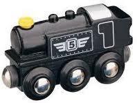 Maxim Parní lokomotiva - černá