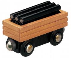 Maxim vagón s potrubím