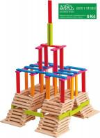 Emma - dřevěná stavebnice - 200 ks