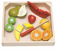 Krájení na prkénku - ovoce s melounem