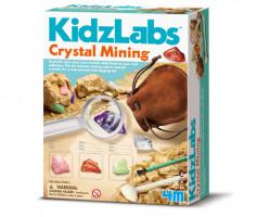 Dobývání krystalických minerálů