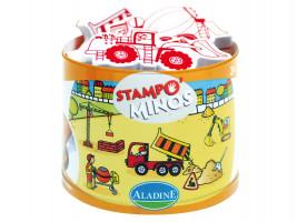 Dětská razítka StampoMinos, na stavbě
