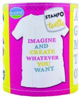 Stampo textil - abeceda Marina - 38 ks