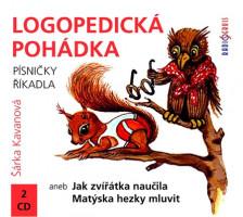 Logopedická pohádka aneb Jak zvířátka naučila Matýska hezky mluvit - audiokniha na CD