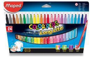 Dětské fixy Maped Color´Peps - 24 barev