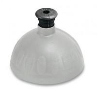 Náhradní víčko na Zdravou lahev, stříbrná/černá