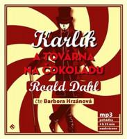 Karlík a továrna na čokoládu - audiokniha na CD - mp3