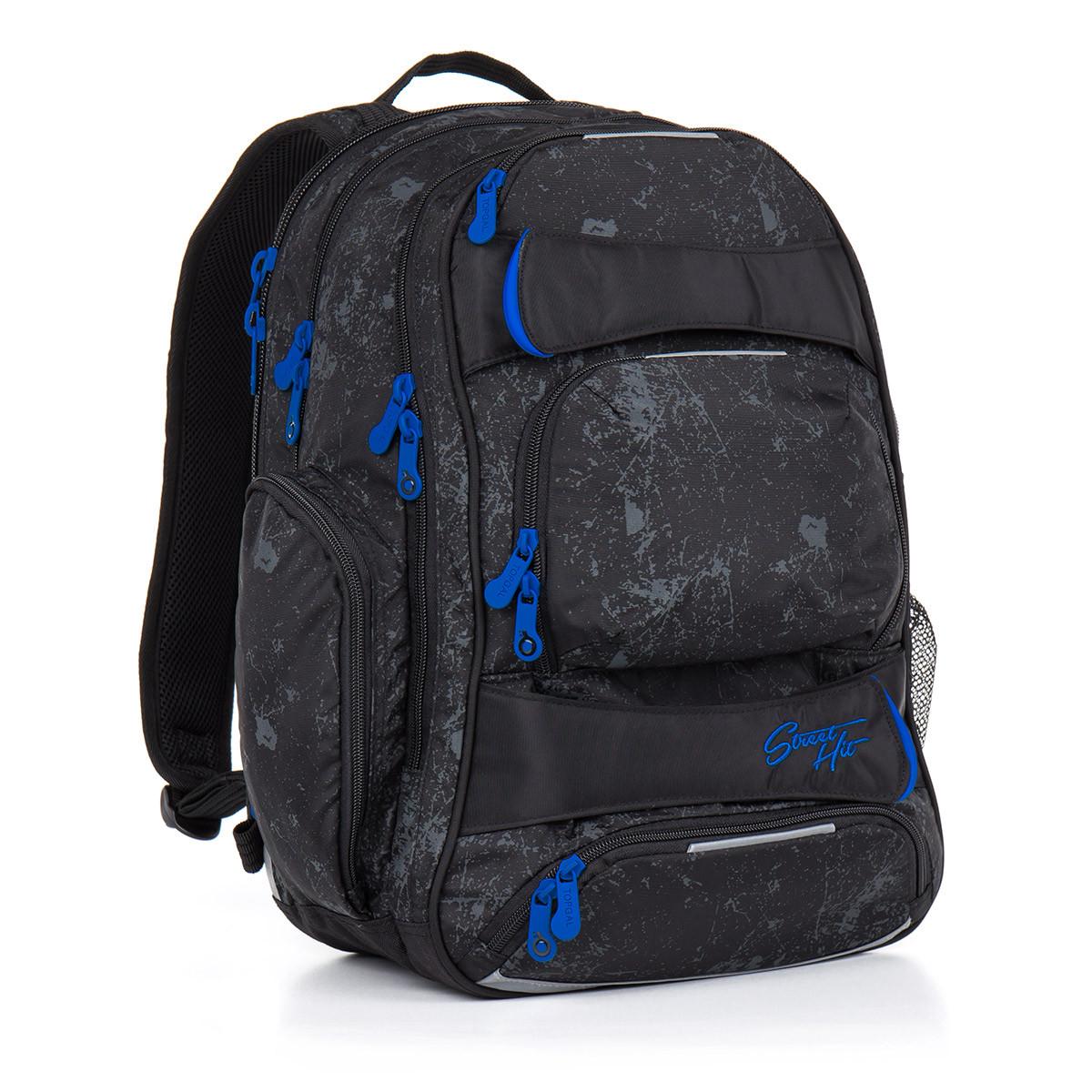 2efa757972 Studentský batoh Topgal - HIT 882 A - Black